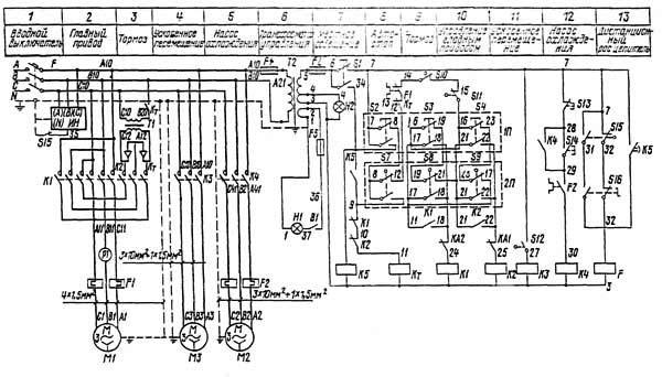 16Е20 схема электрическая